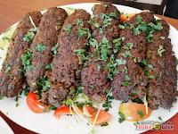 Laziz Filipino Mediterranean Cuisine, Antipolo, beef and lamb kebabs