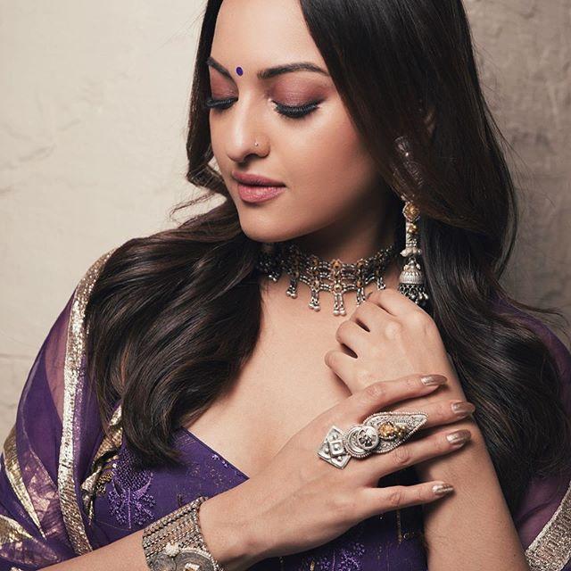 Sonakshi Sinha Saree Look