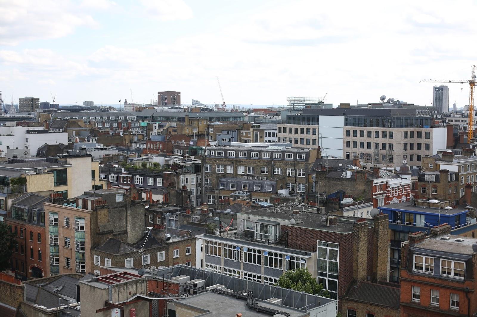 Saco apartments penthouse view
