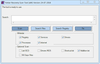 Farbar Recovery Scan Tool 16.11.2016