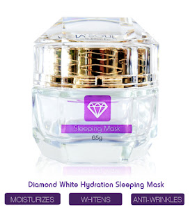 La'Soul Diamond Hydration Sleeping Mask SNE, lasoul sne, lasoul sleeping mask