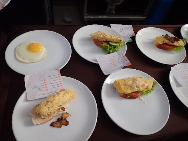 menu sarapan di clove garden hotel bandung