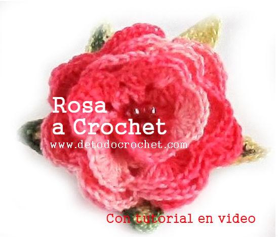 como-tejer-rosa-crochet