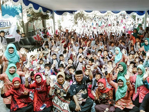 Traditional Art Goes Disdik Kota Bandung