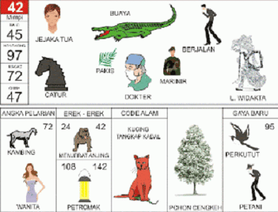 kode alam kucing tangkap kadal