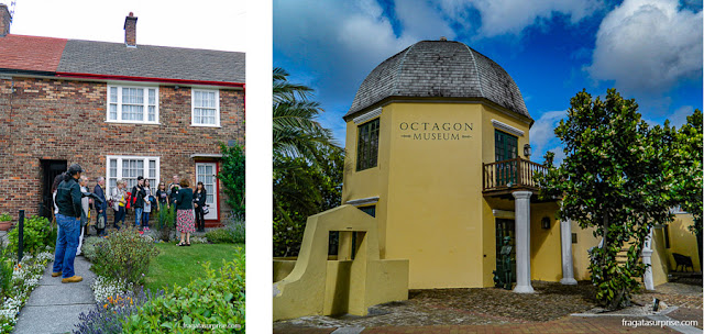 A casa de Paul McCartney em Liverpool e o Octagon, refúgio de Simón Bolívar durante o exílio em Curaçao