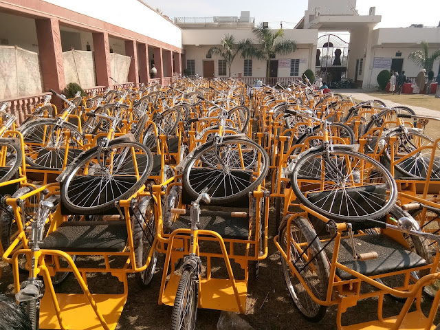 Ashoka Foundation will provide free equipment to the disabled निशक्तों को निशुल्क उपकरण उपलब्ध कराएगा अशोका फाउंडेशन