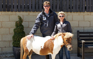 Derriere Equestrian Dressage Riders Lucy Cartwright and Daniel Bremner