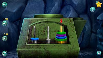 правильная установка дисков на третий штырь согласно подсказке