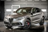 Alfa Romeo Stelvio Quadrifoglio NRING (2018) Front Side