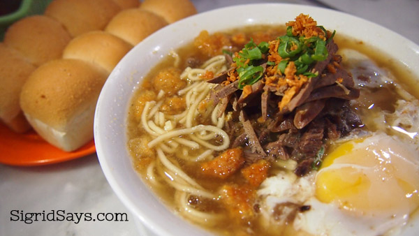 Special batchoy with egg at Super Batchoy House - Bacolod restaurant
