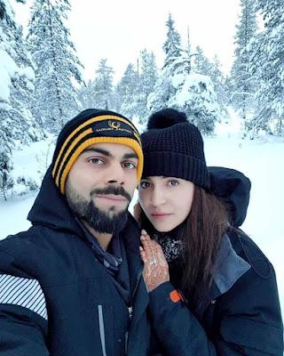 Anushka Sharma and virat kohli hd photo