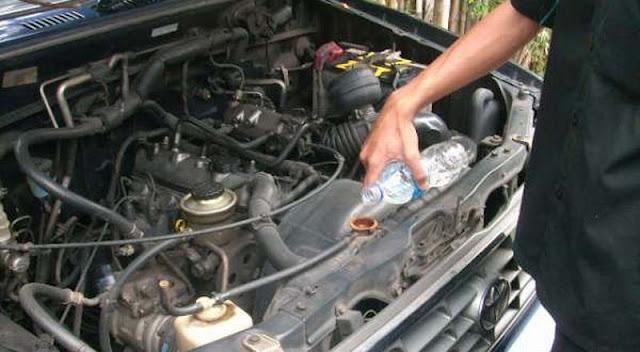 Bahaya Kurangnya Air Radiator Pada Mobil