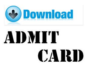 UPSC CDS Exam II Hall Ticket 2016