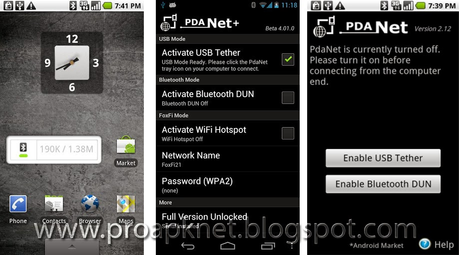 PdaNet Plus Apk 4 13 Full Version Android Free ~ Android Pro