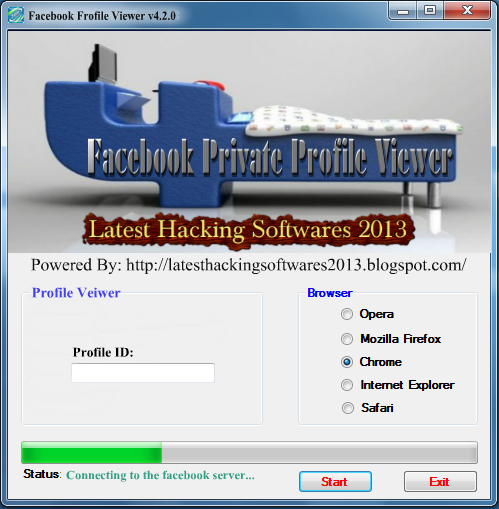 View facebook private profile free download