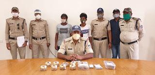 नगदी सहित चुराये हुये सोने चांदी के जेवर कीमती 5 लाख रूपये के जप्त, आरोपी पिता-पुत्र गिरफ्तार