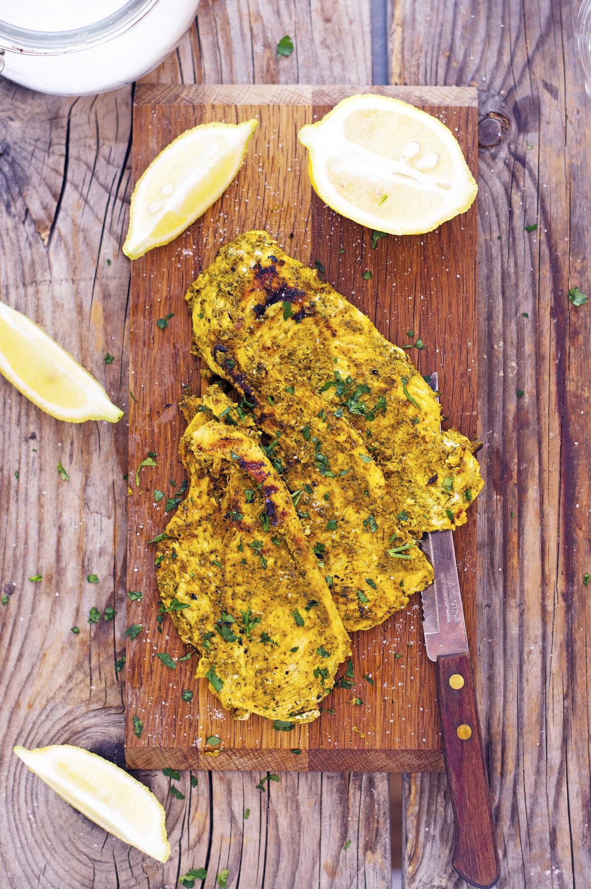 Tandoori-Spiced Grilled Chicken