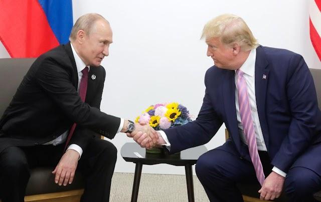Κοινή δήλωση Τραμπ και Πούτιν για την προώθηση της ενότητας μεταξύ ΗΠΑ και Ρωσίας