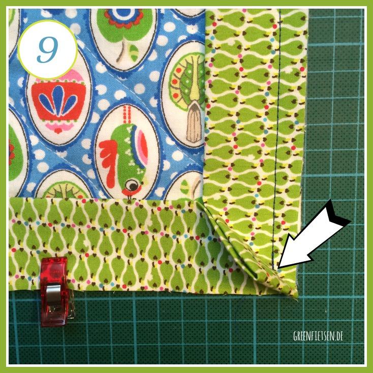 greenfietsen diy tutorial topflappen mit briefecken n hen. Black Bedroom Furniture Sets. Home Design Ideas