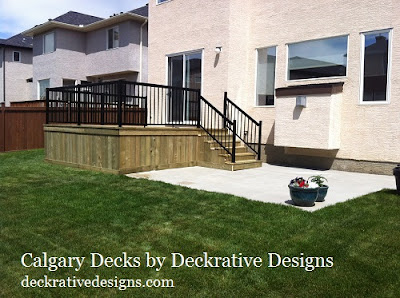 calgary deck and fence