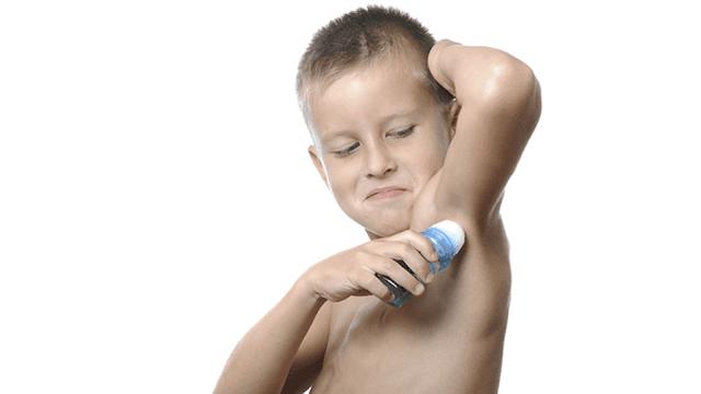 Can a 5 year old wear deodorant?