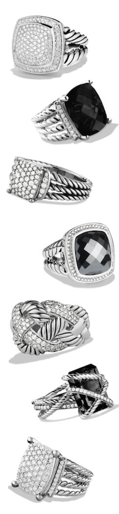 David Yurman Ring Assortment