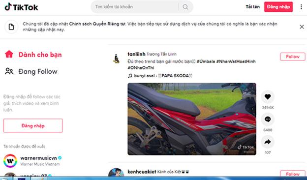 Tải Tik Tok - App xem video ngắn TikTok trên máy tính, PC dễ dàng b