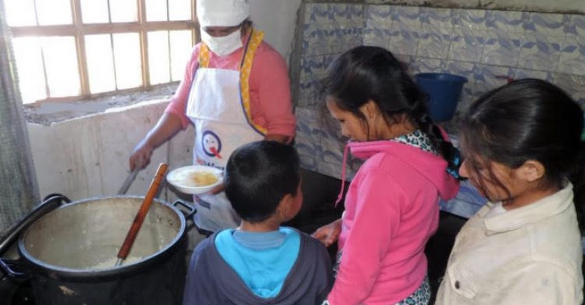 Más de 4600 escolares de Mariscal Luzuriaga en Ancash reciben desayunos y almuerzos nutritivos de MIDIS - Qali Warma - www.qaliwarma.gob.pe