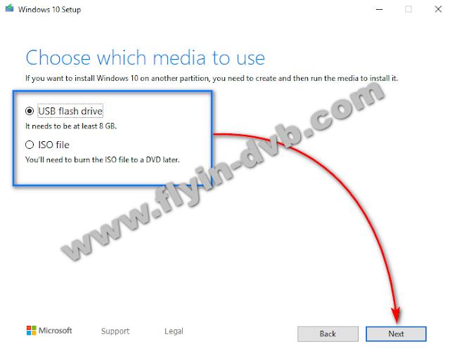 Cara Menggunakan Windows 10 Media Creation Tool langkah 4