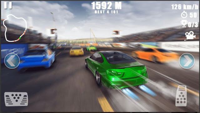 Game Balap Offline Ringan Car Racing: Dirt Drifting