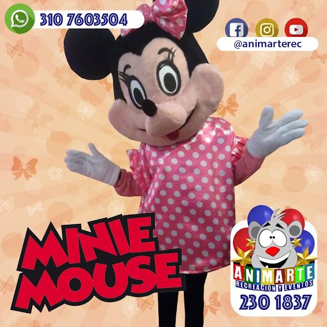Minnie Mouse en tu Fiesta Infantil
