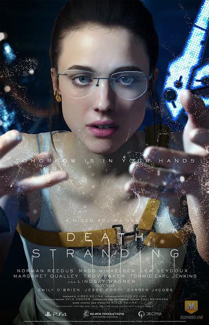 صور جديدة من عالم لعبة Death Stranding ومعلومات لأول مرة عن محتواها و طريقة اللعب