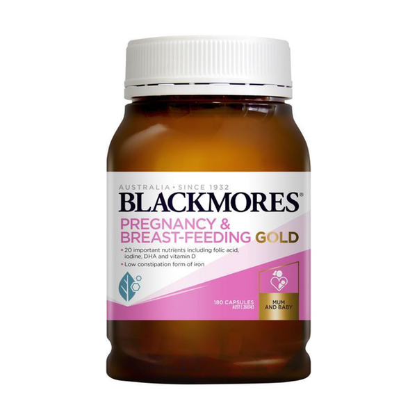 Blackmores Pregnancy Gold 180v/hộp