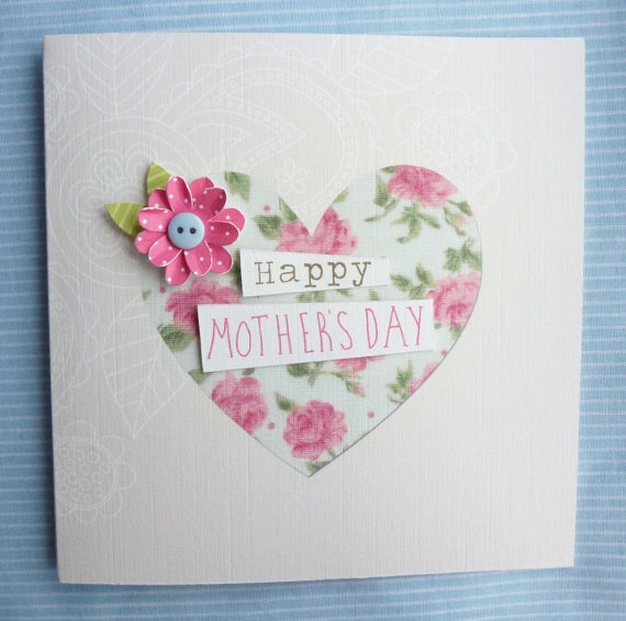 Greeting card for mother birthday