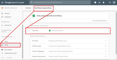 verifikasi google webmaster