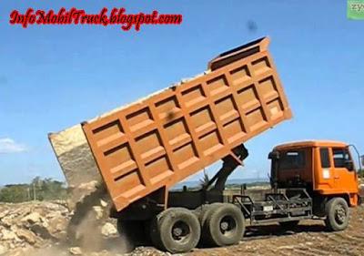 Mitsubishi dump truk fuso