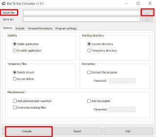 Cara Merubah File BAT Menjadi EXE Paling Mudah