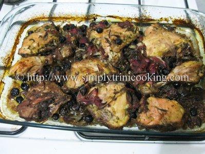 Sorrel Chicken