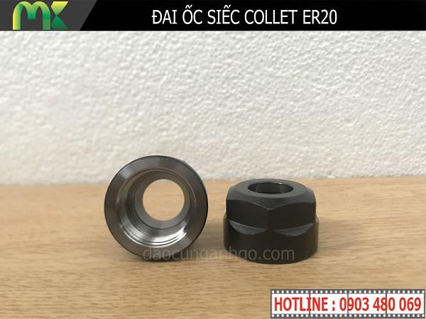 Đai ốc siếc Collet ER20