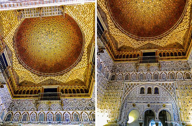 Salão dos Embaixadores, Palácio Mudéjar do Real Alcázar de Sevilha