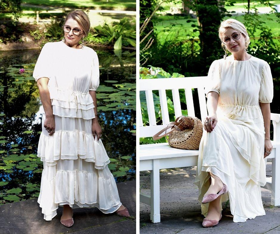Styling-Romantik-Kleid