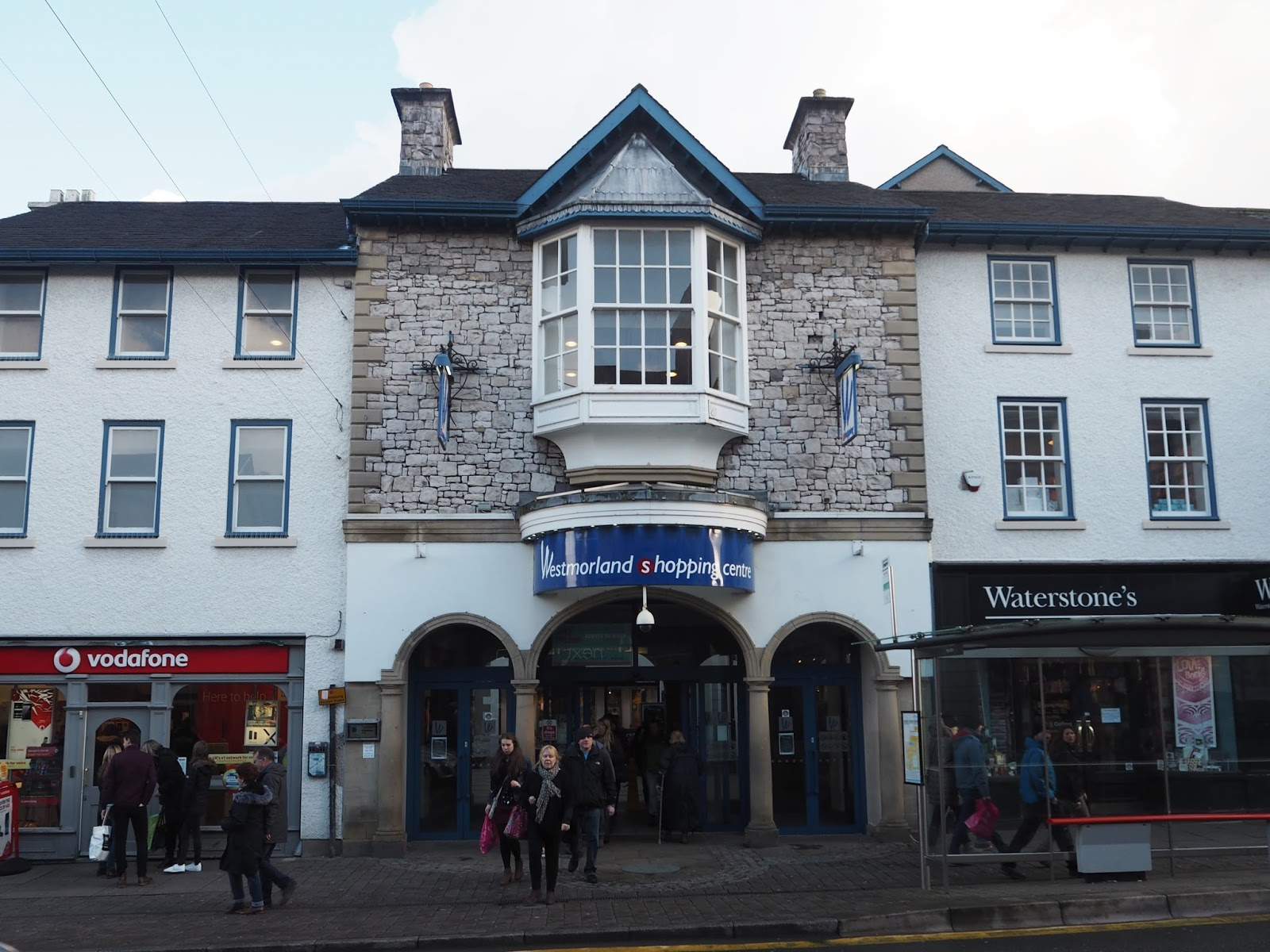 Entrance to Westmorland shopping centre, Kendal