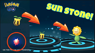 How to get sun stone in pokemon go, look here !!!