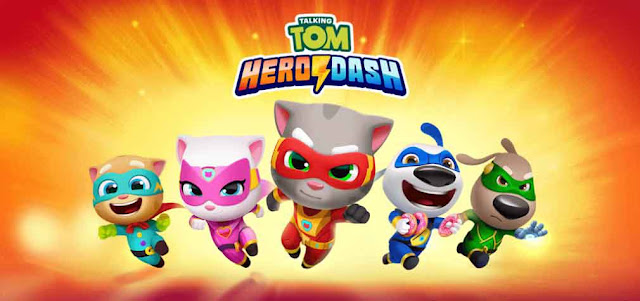 Talking Tom Hero Dash MOD APK v1.7.1.995 [Unlimited Money]