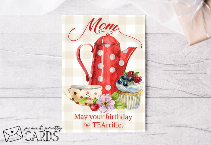 Tea-Rrific Birthday