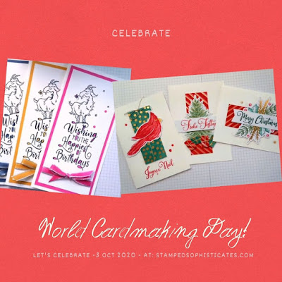 Cards from World Cardmaking Day 2020