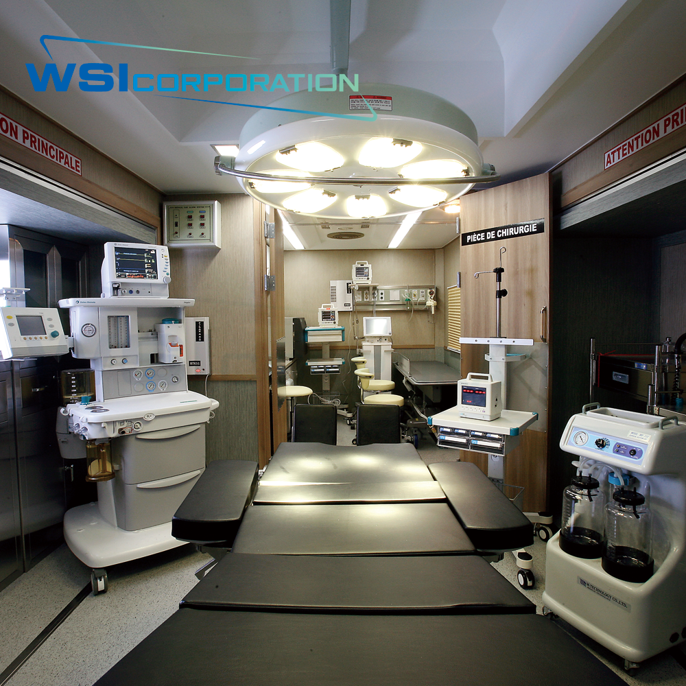 Mobile hospital center - surgery unit | WSI CORPORATION