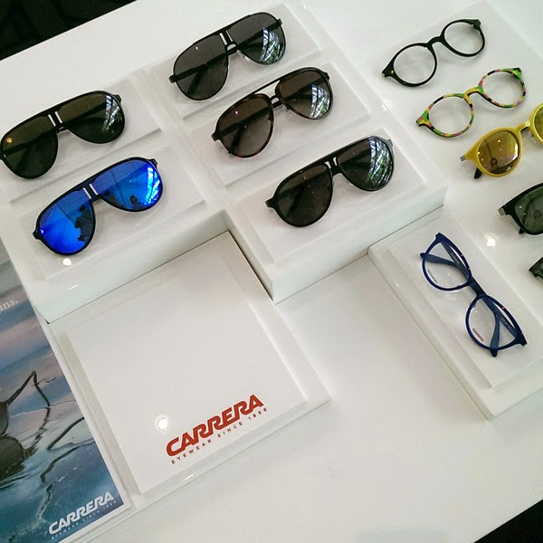 Carrera sunglasses and frames - Safilo SS 2015 Sunglasses & Eyewear Media Showcase