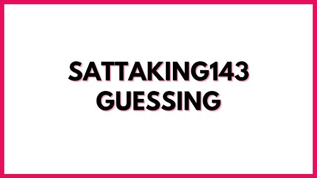 Kalyan Guessing 143